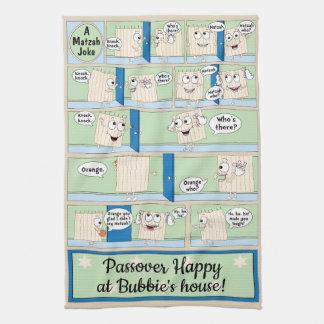 """Kitchen Towel """"Passover Matzah Joke """""""