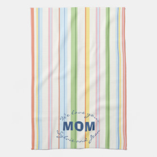 "Kitchen Towel ""Picnic Stripes"""