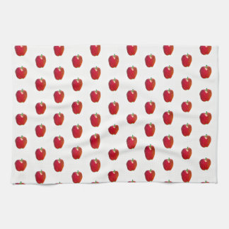 Kitchen Towel Red Appled