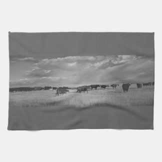 Kitchen Towel Western Cattle