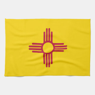 Kitchen towel with Flag of New Mexico, U.S.A.