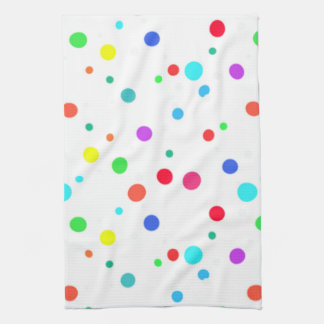 Kitchen Towel With Lots O' Spots