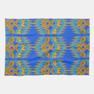 Kitchen Towel with Southwestern Geometrics