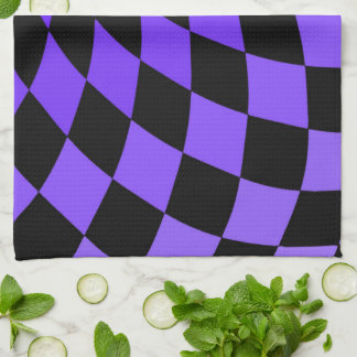 Kitchen Towel  Wonderland Floor Shy Violets