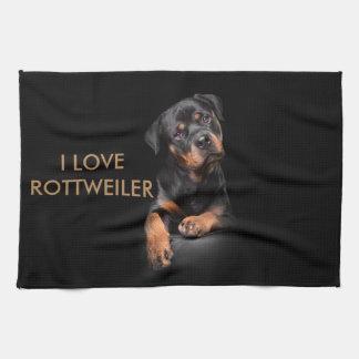 Kitchen Towl Rottweiler Tea Towel