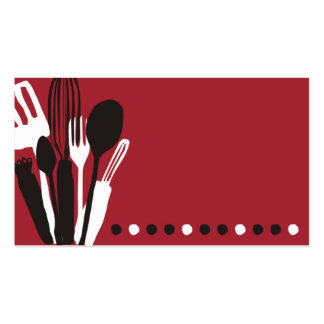 197 cooking utensils business cards and cooking utensils - Utensilios de chef ...