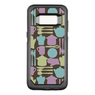 Kitchen Utensils Pattern 2 OtterBox Commuter Samsung Galaxy S8 Case