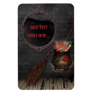 Kitchen Witch Premium Flexi Magnet
