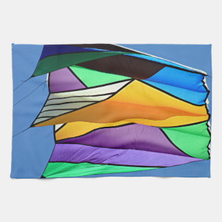 Kite flying 1 tea towel