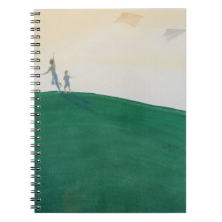 Kite Flying 2000 Spiral Notebook
