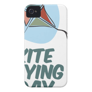 Kite Flying Day - 8th February iPhone 4 Cover
