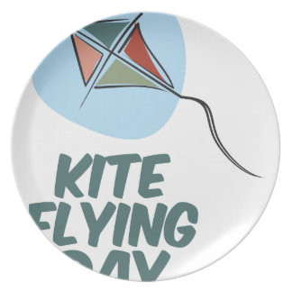Kite Flying Day - 8th February Plate