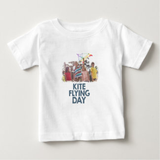 Kite Flying Day  - Appreciation Day Baby T-Shirt