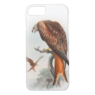 Kite Glead Hawk John Gould Birds of Great Britain iPhone 7 Case