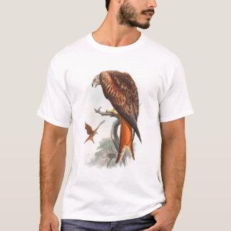 Kite Glead Hawk John Gould Birds of Great Britain T-Shirt