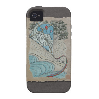 Kite & Mr. North Wind Vibe iPhone 4 Cover