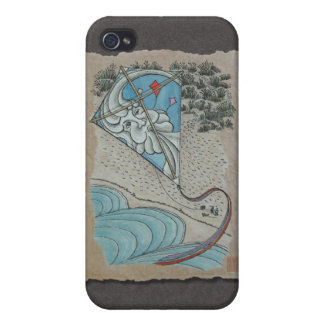 Kite Mr North Wind Cases For iPhone 4
