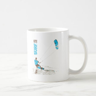 kite surf coffee mug