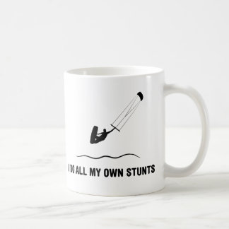 Kite Surfing Basic White Mug