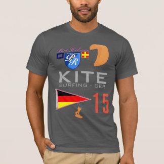 Kite Surfing Germany GER Flag T-Shirt