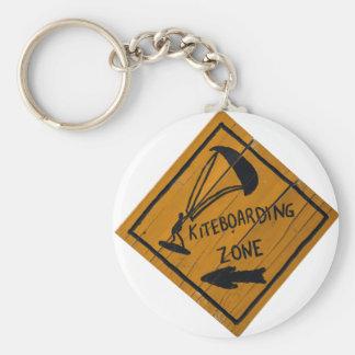 Kiteboard Sign Key Ring