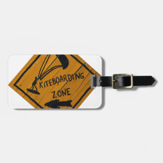 Kiteboard Sign Luggage Tag