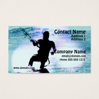 Kiteboarding Business Card