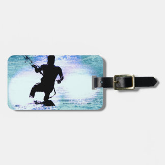 Kiteboarding Luggage Tag