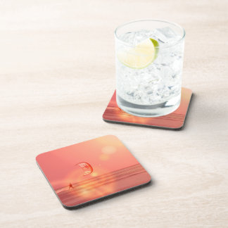 Kiteboarding Sunset Cork Coasters