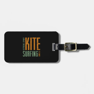 Kitesurfing 25-30 Knots Luggage Tag