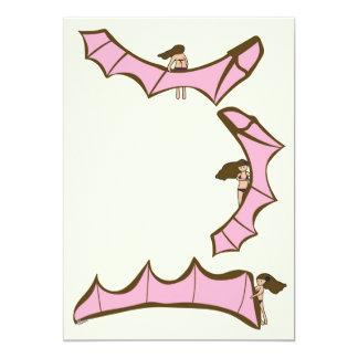 Kitesurfing/Kiteboarding - Kite girl with kite Card