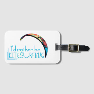 Kitesurfing Luggage Tag