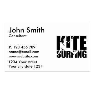 Kitesurfing Pack Of Standard Business Cards