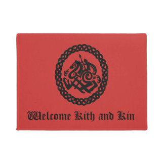 Kith and Kin Odin Silhouette Doormat
