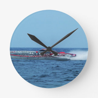 Kiton offshore powerboat. round clock