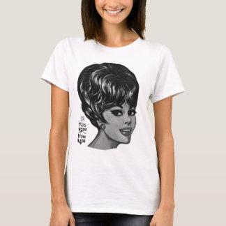 Kitsch Vintage '100% Human Wig' Ad T-Shirt