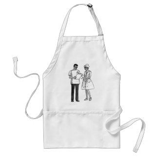 Kitsch Vintage 60's Doctor and Nurse Aprons