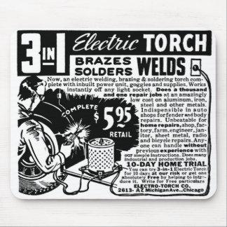 Kitsch Vintage Ad 3 in 1 Welder Mail Order Mouse Pad