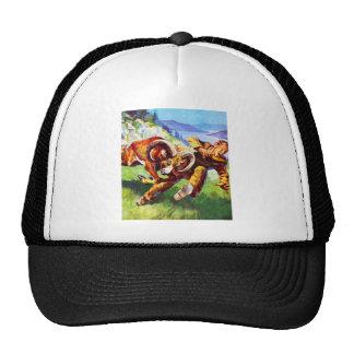 Kitsch Vintage Adventure 'Ram vs Man' Trucker Hat