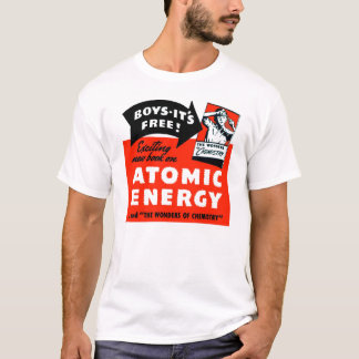 Kitsch Vintage Atomic Energy For Kids! T-Shirt