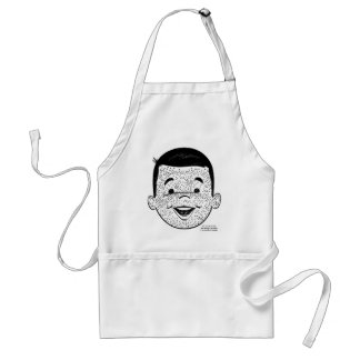 Kitsch Vintage Count My Freckles Kid Standard Apron