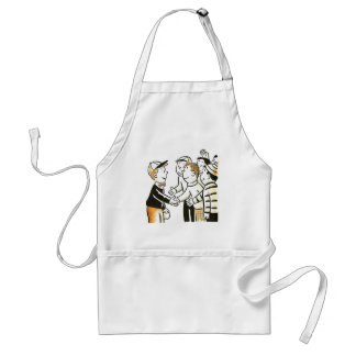 Kitsch Vintage Kids Good Buddies Standard Apron