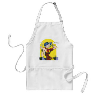 Kitsch Vintage Lady Trouble Comic Aprons