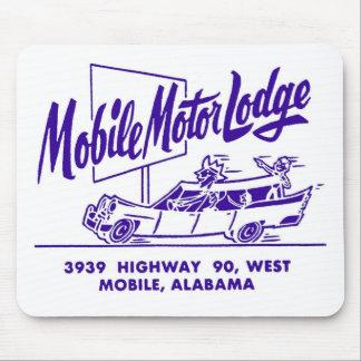 Kitsch Vintage Mobile Motor Lodge Motel Mouse Pad