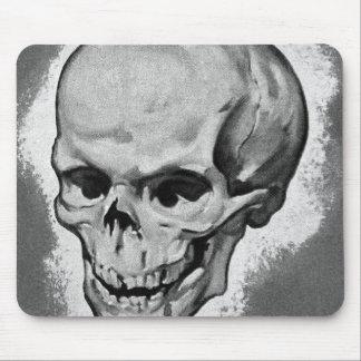Kitsch Vintage Monster 'Skull' Mouse Pad