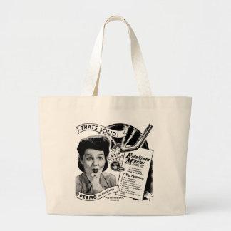 Kitsch Vintage Phonograph Record Needle Bag