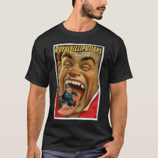 Kitsch Vintage Retro Vintage Man Eating Police Tee