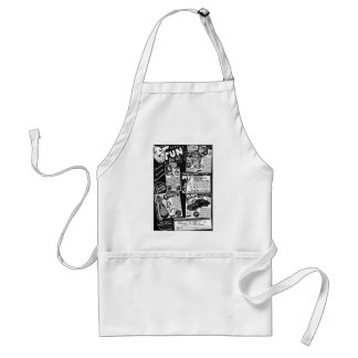Kitsch Vintage Toy Ad ' Fun for All' Adult Apron