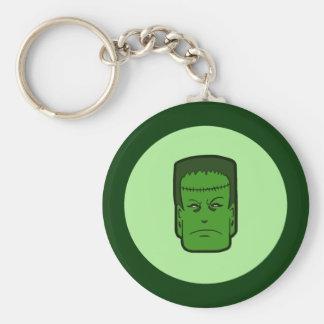 Kitschy Frankenstein Key Ring