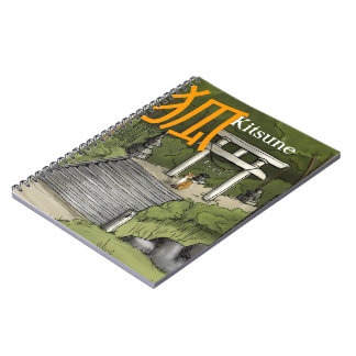 Kitsune - Japanese Fox Guardian Notebooks